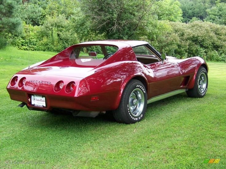 Show me pictures of a 1975 corvette stingray