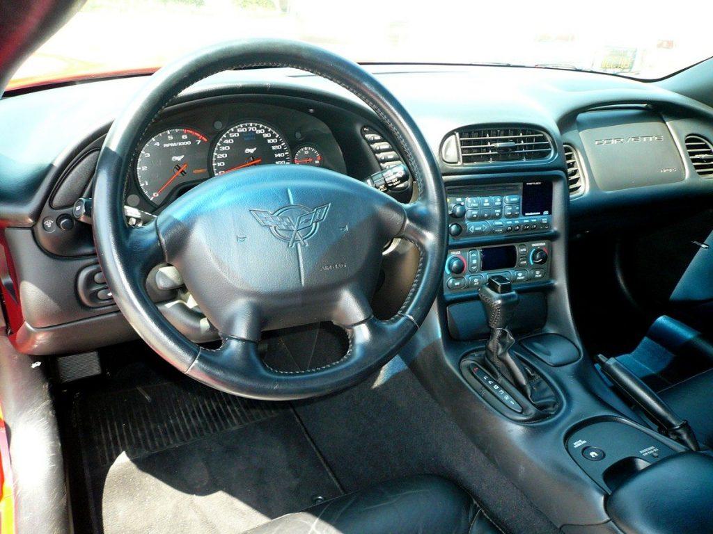 1997 C5 Corvette Interior