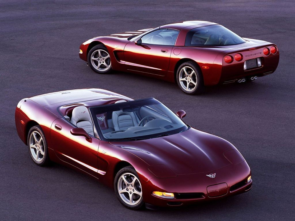 The 2003 chevy corvette image courtesy of gm media