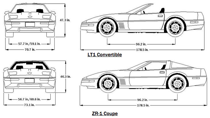 c3 corvette front suspension diagram