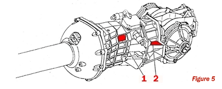 Borg Warner T-56 Manual Transmission VIN Derivative Label Locations