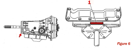 Hydra-Matic 4L60-E Transmission ID Label Location
