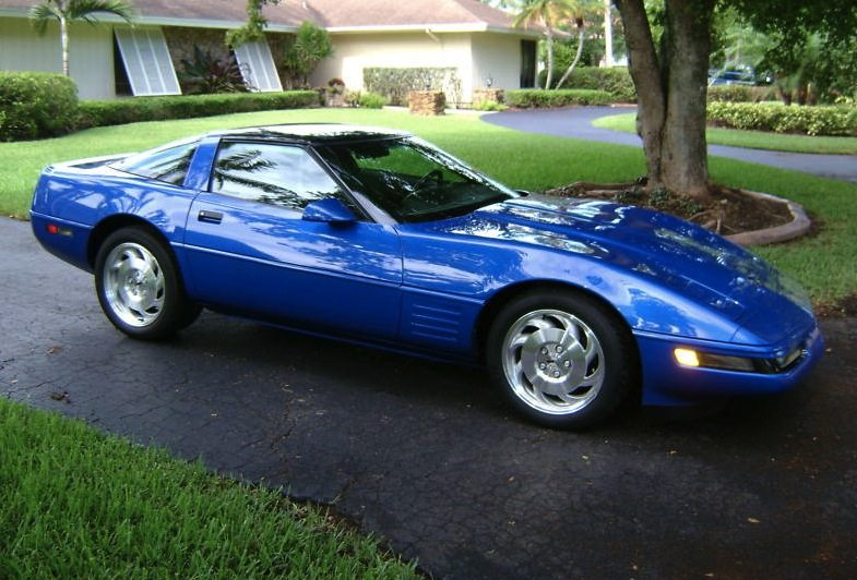 1994 Corvette in Admiral Blue