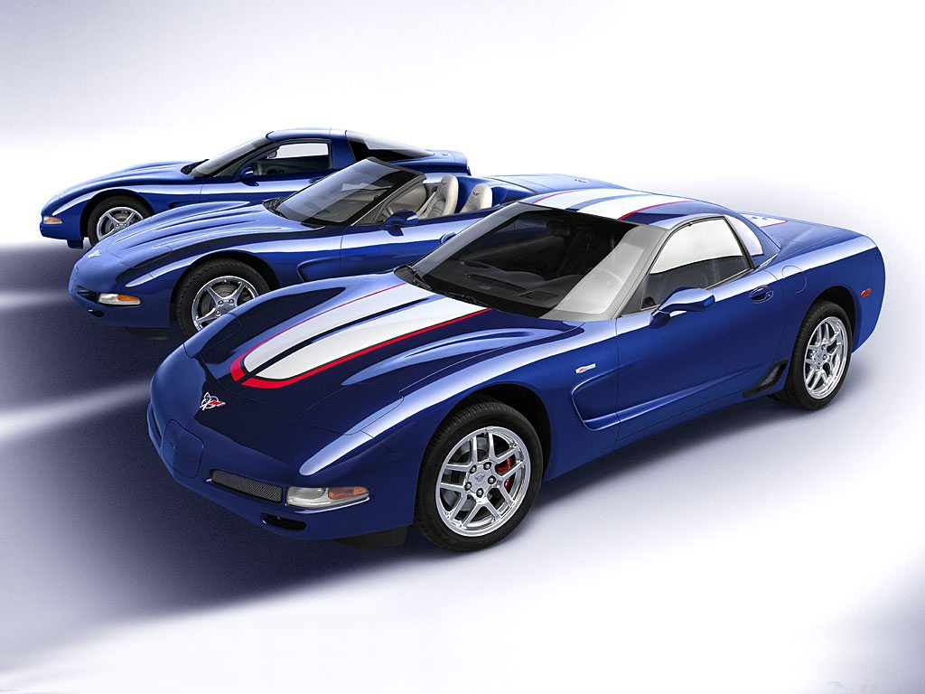 2004 Coupe, Convertible and Z06 Corvettes