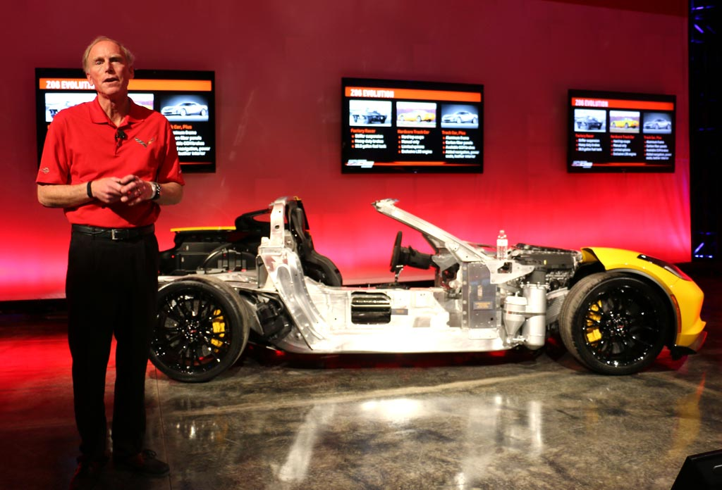 Tadge Juechter, Corvette's Chief Engineer