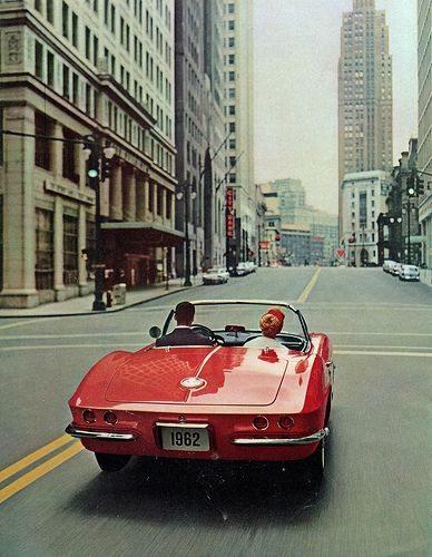 1962 Corvette Rear End