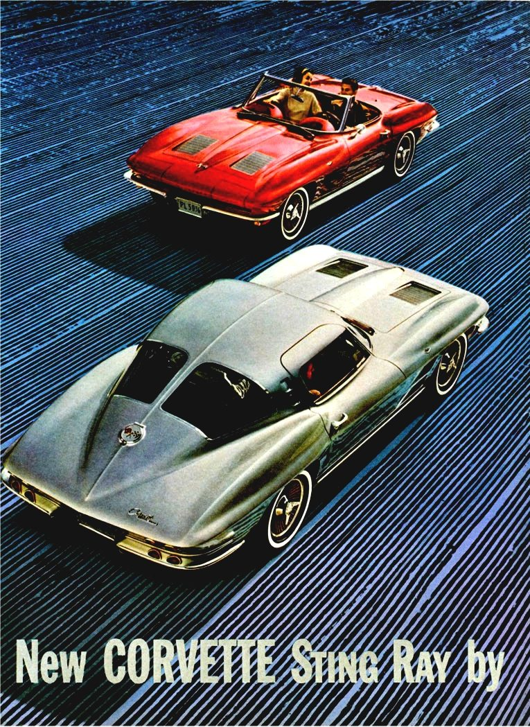 1963 Corvette Stingray Advertisement