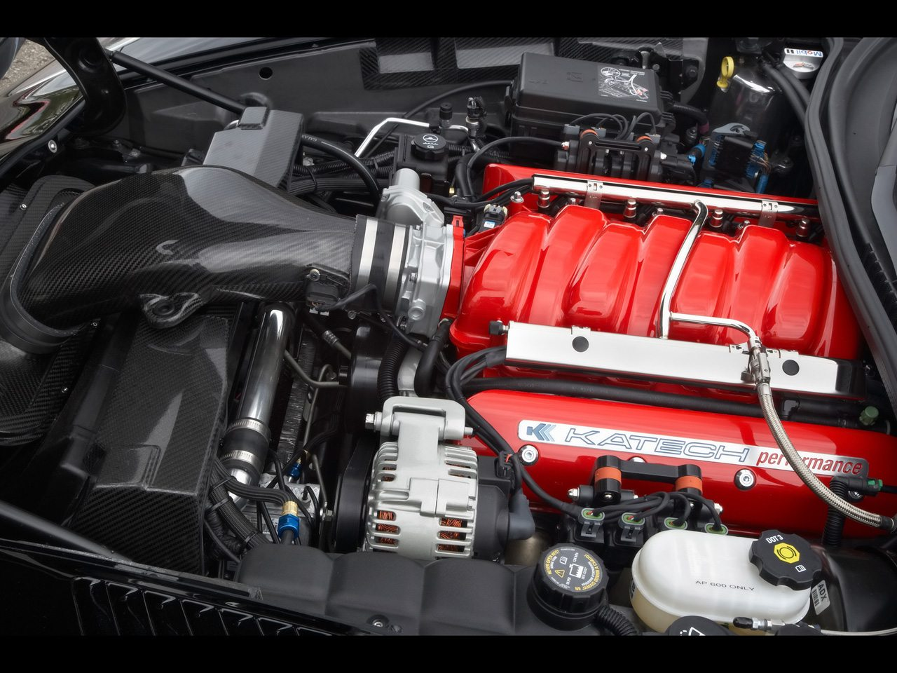 2007 Corvette Engine