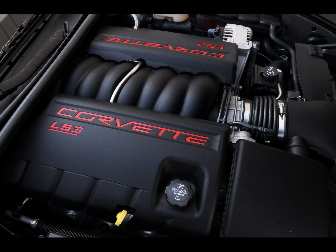 2008 Corvette Engine