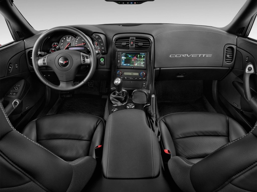 The C6 Corvette Interior.