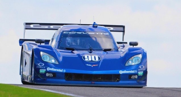 The 2012 Corvette DP was introduced at the Rolex 24 at Daytona International Speedway in February, 2012.