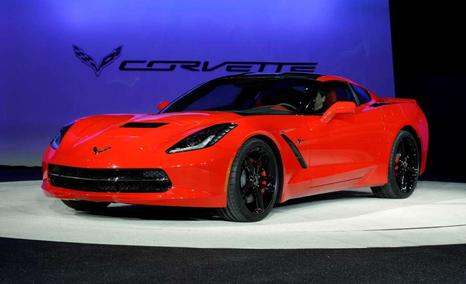 The 2014 Corvette was unveiled at the North American International Auto Show on January 14, 2013.
