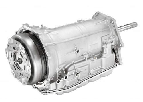 The 2015 8L90 eight speed automatic transmission