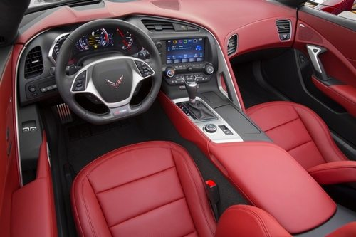 The New E Red Design Package Offered On 2016 Corvette Stingray And Z06 Features A Special Full Color Interior Brake Calipers