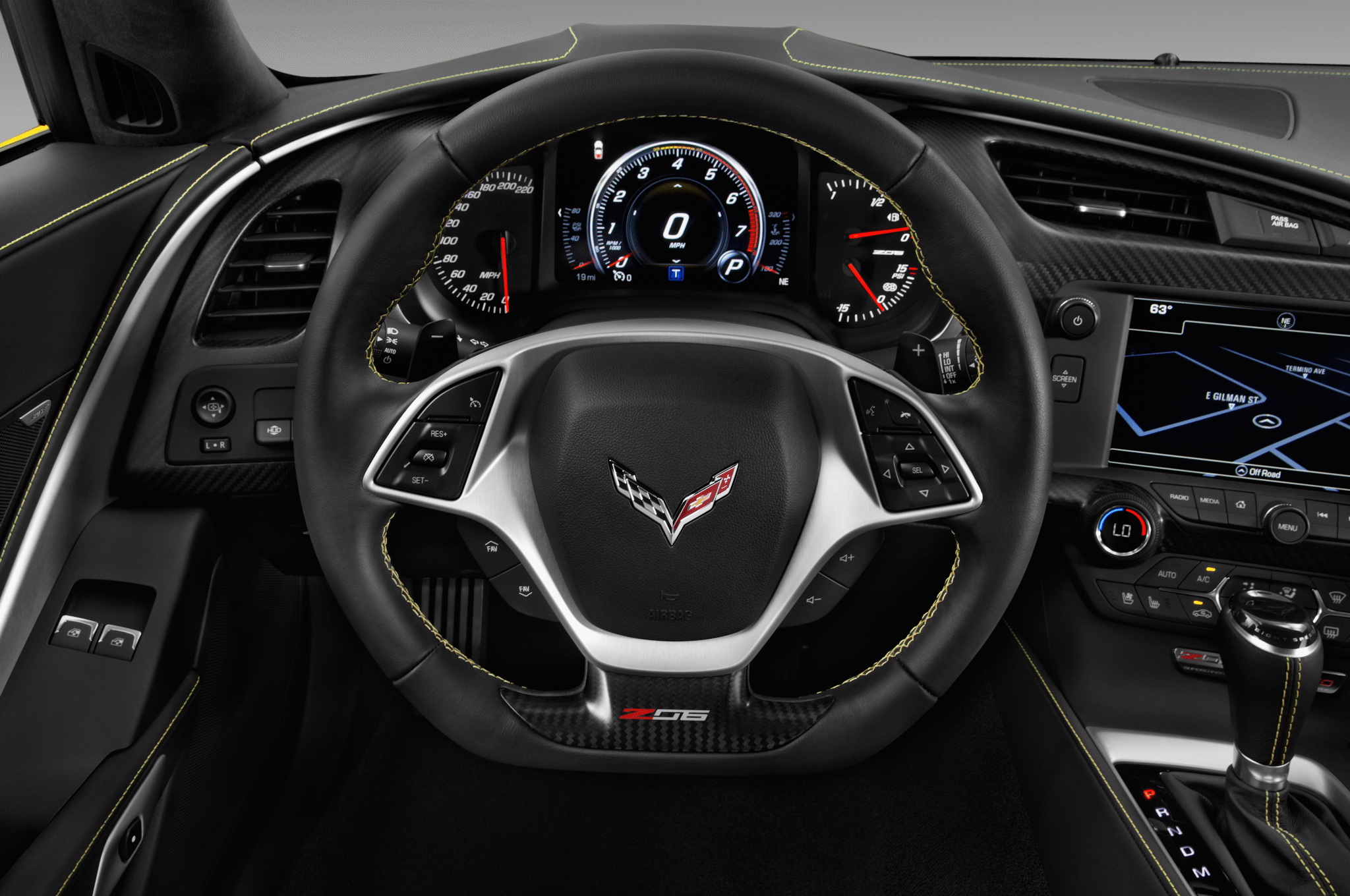 C7 Corvette Stingray Steering