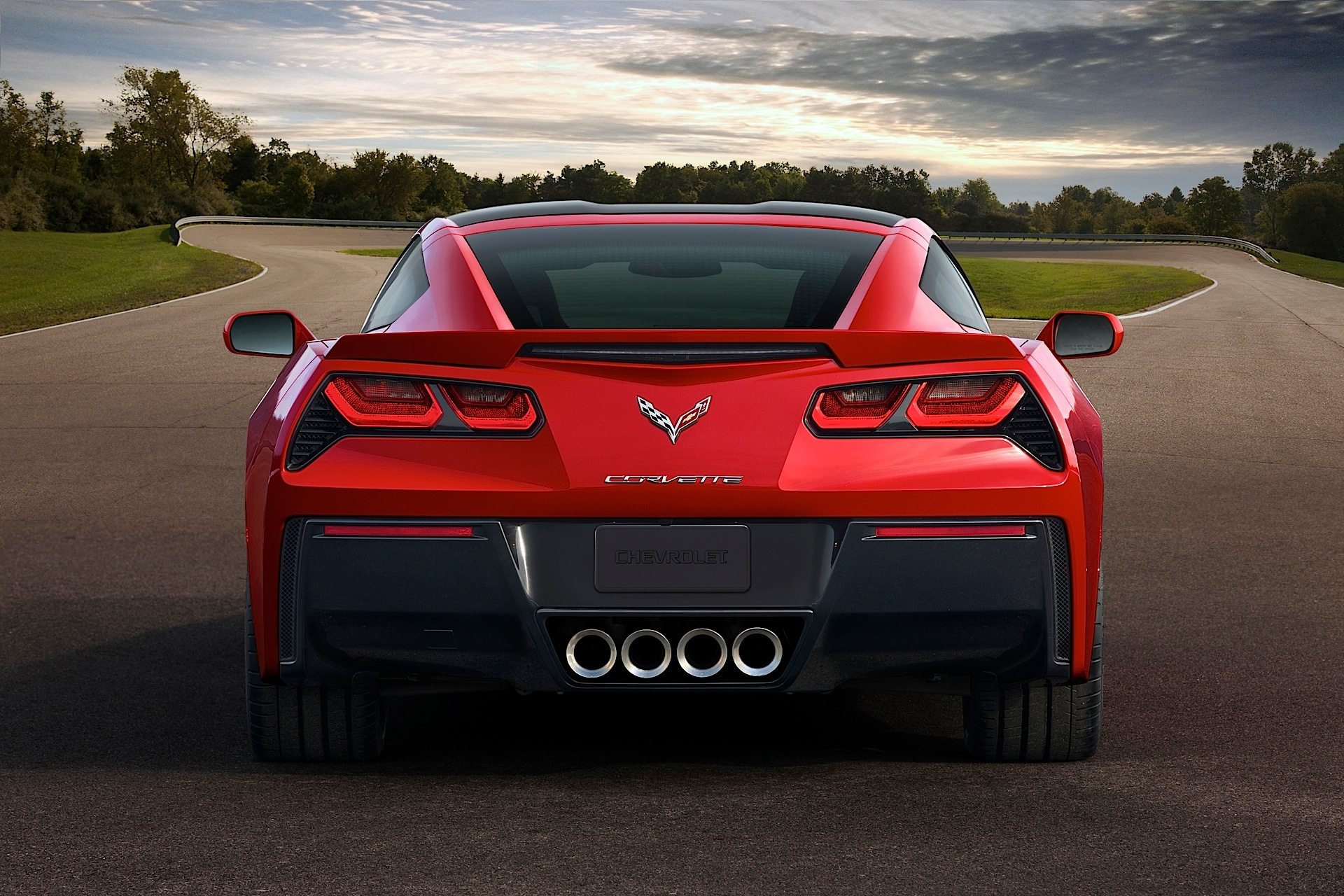 The new C7 2014 Chevy Corvette Stingray.