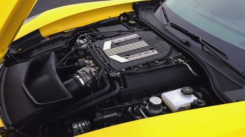2015 Z06 Corvette LT4 6.2L supercharged engine
