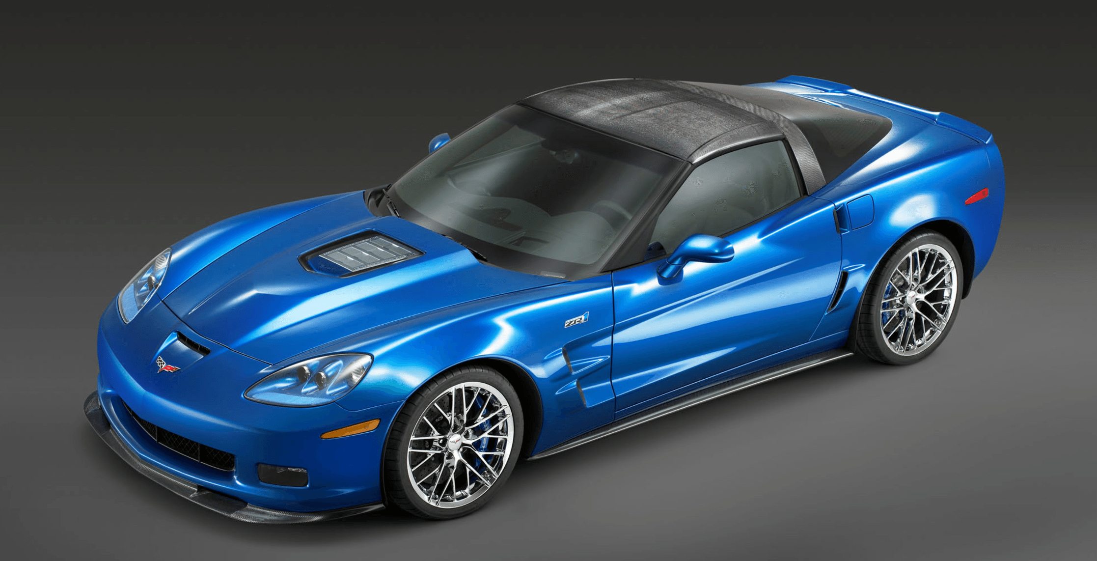 2007 Corvette Blue Devil