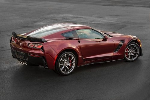 The 2016 Spice Red Corvette Z06 Coupe Package