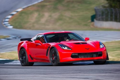2016 Z06 Corvette Coupe in Red