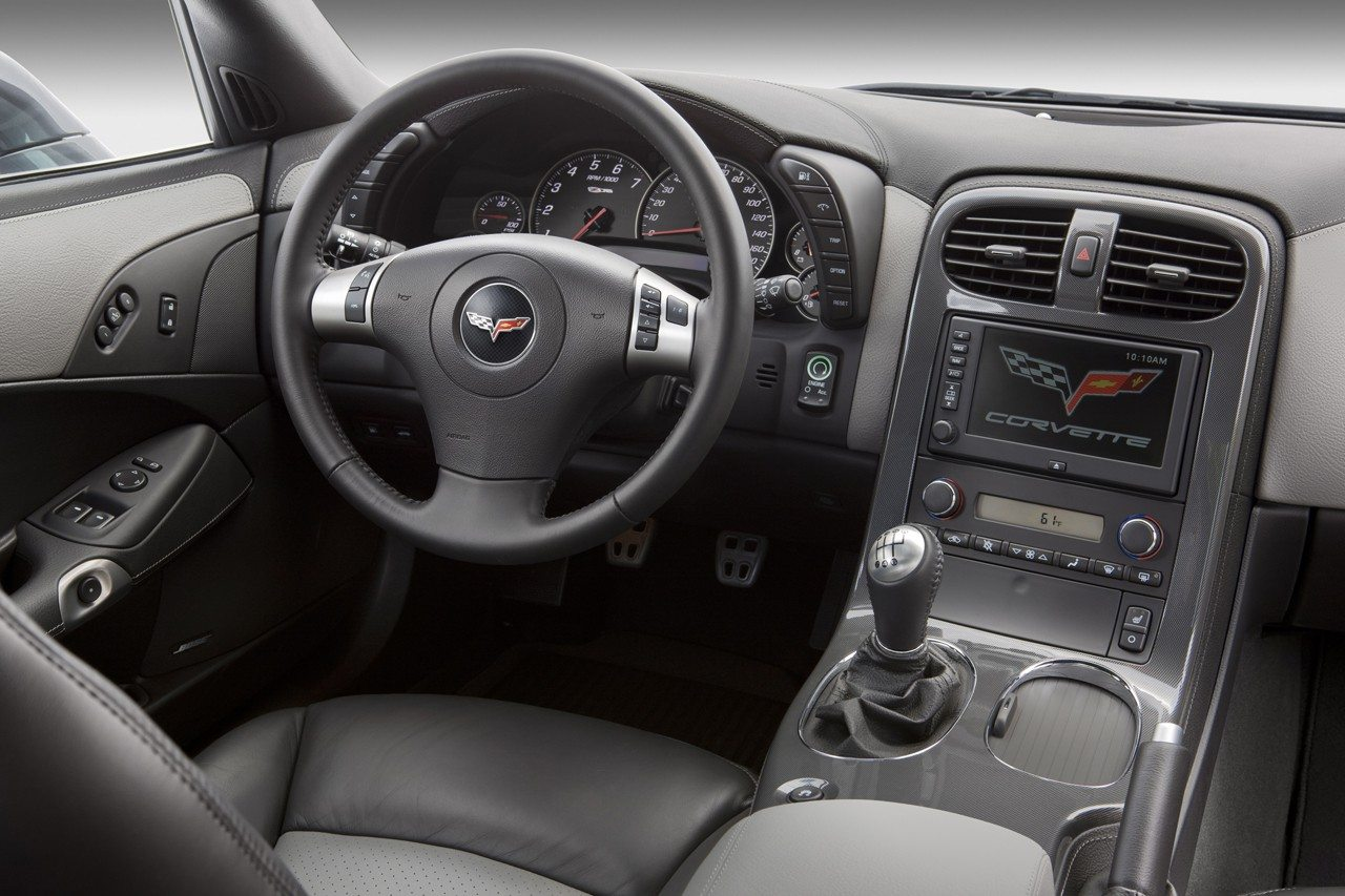 2009 Chevrolet Corvette Interior