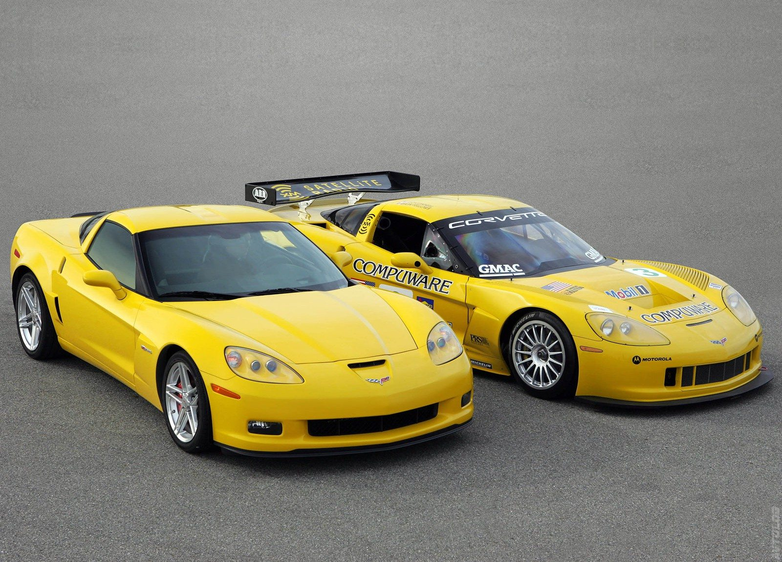 "The 2006 Z06 was developed from ""lessons learned"" on the C5.R Corvette Race  Car during the 2004 24 Hours of LeMans. In turn, the C6."