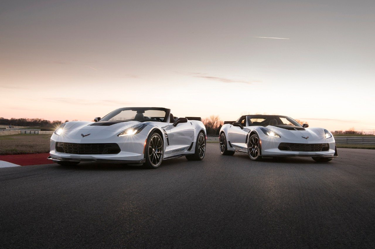 The Carbon 65 Edition Corvette will be available with the Grand Sport 3LT and the Z06 3LZ packages.