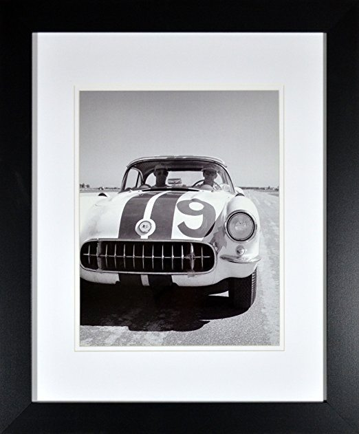 Best Corvette Artworks For Your Man Cave - Framed Historic C1 Corvette Racing Picture