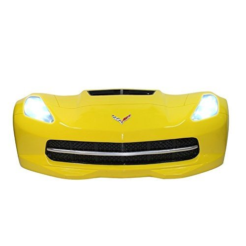 Best Corvette Artworks For Your Man Cave - Chevrolet 2015 Corvette Stingray Front End Wall Decor