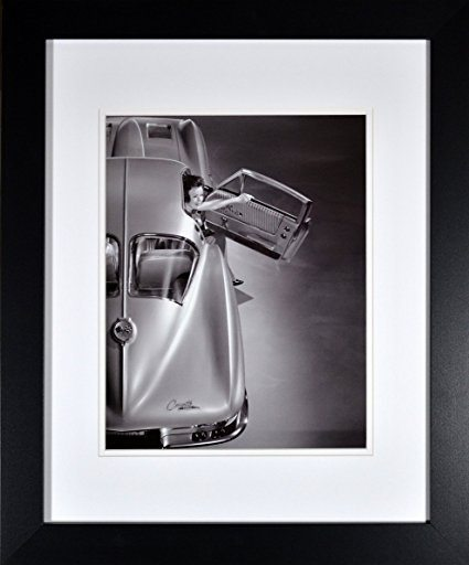 Best Corvette Artworks For Your Man Cave - Framed Historic General Motors C2 Corvette Picture