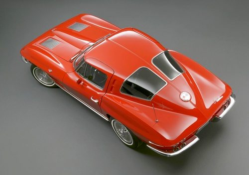 The 1963 Chevrolet Corvette Sting Ray Split-Window Coupe in Riverside Red
