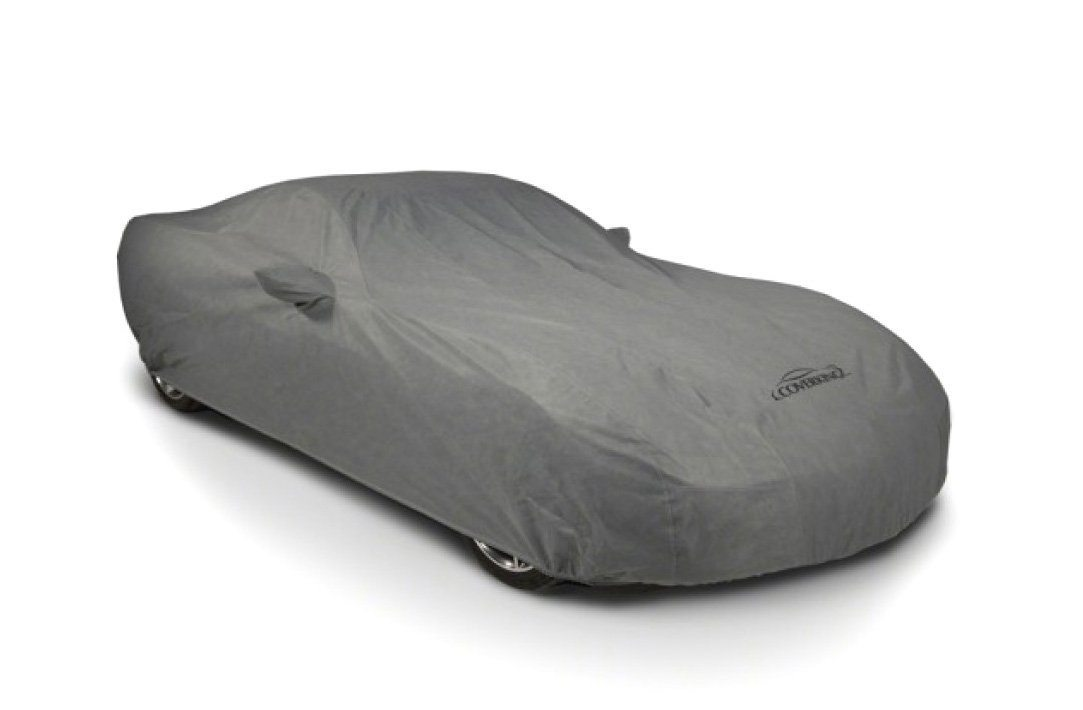 1984-1996 Corvette TriGuard Car Cover Gray w Embroidered Front & Rear Logos
