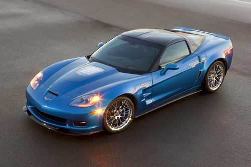 The 2009 Jetstream Blue ZR1 Corvette