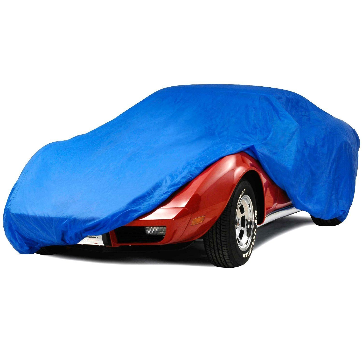 C3 Corvette Semi Custom Blue Car Cover