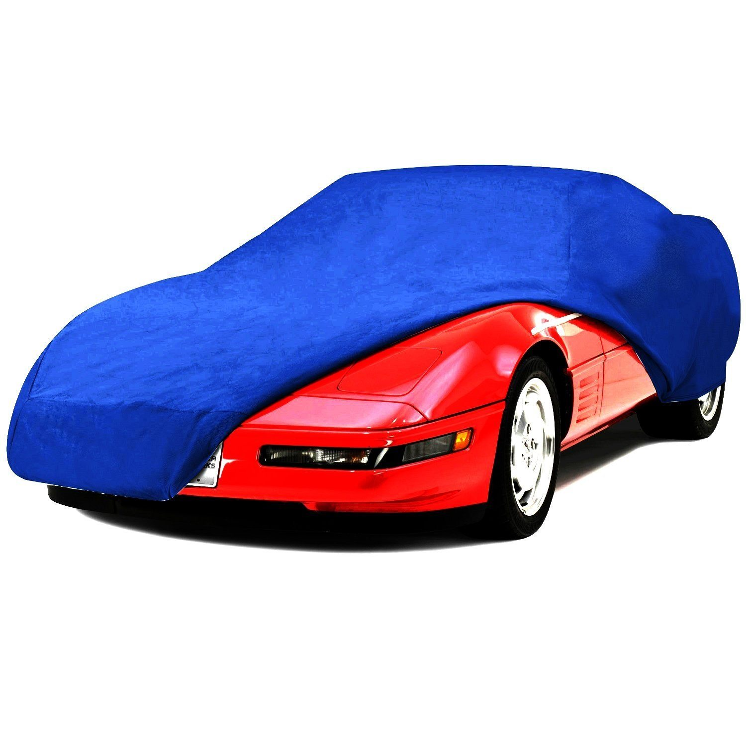 C4 Corvette Semi Custom Car Cover Blue