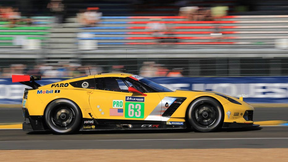 corvette racing finishes third at 2017 24 hours of le mans racing. Black Bedroom Furniture Sets. Home Design Ideas