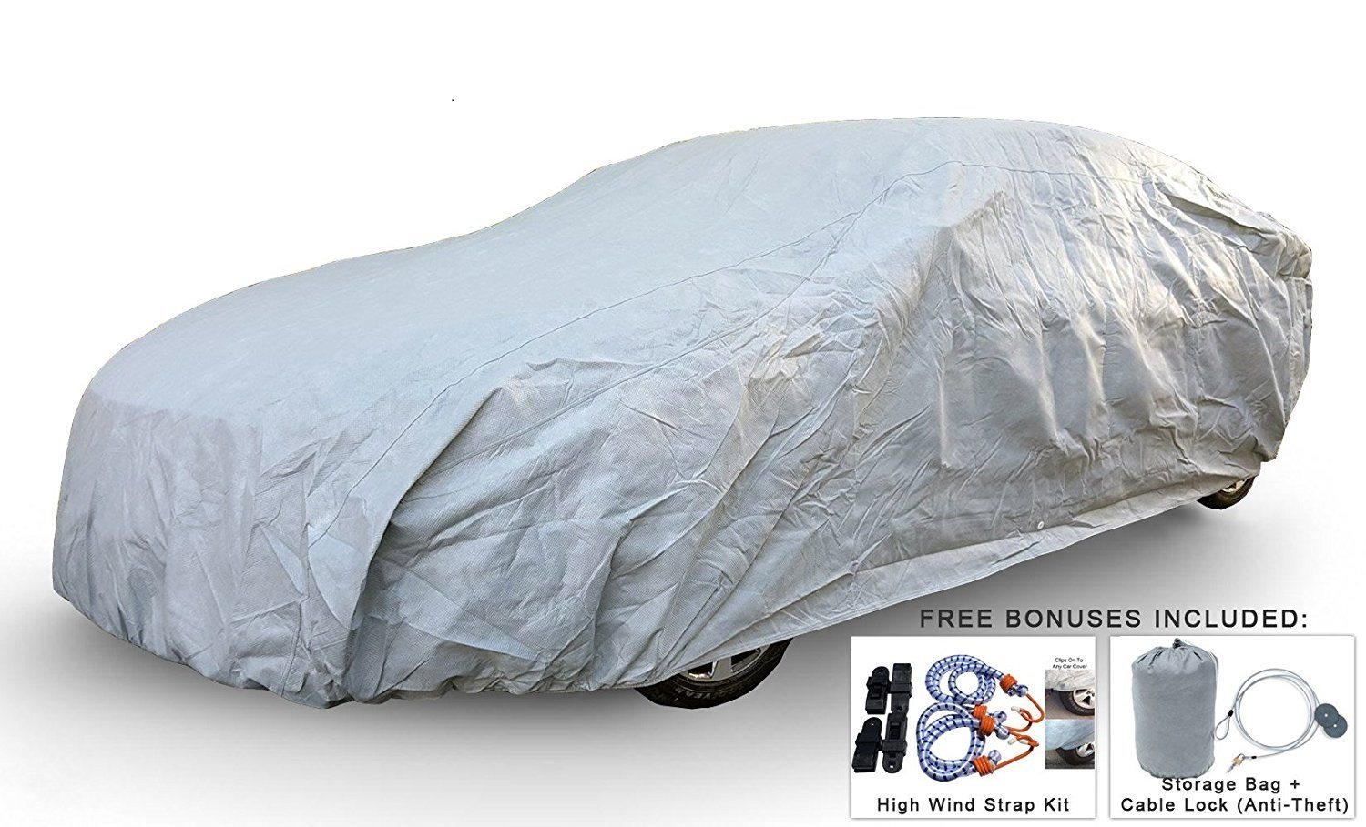 Weatherproof Car Cover For Chevrolet Corvette (C2) 1962-1967