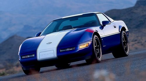1996 Admiral Blue Grand Sport Corvette with LT4 engine