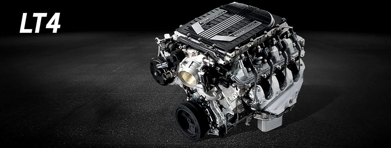 Chevrolet's 6.2L Gen V LT4 Engine