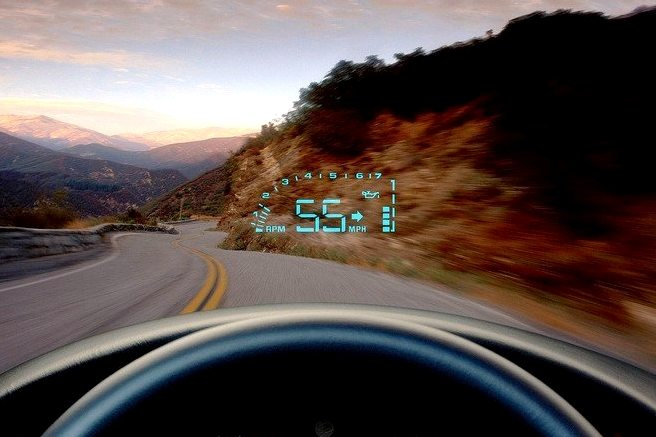 2001 Corvette Heads Up Display