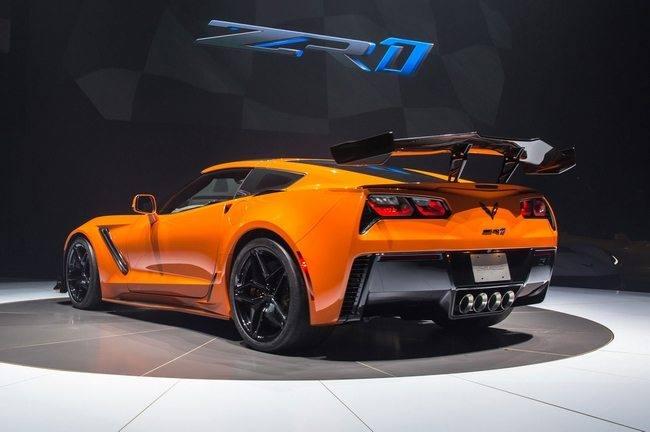 2019 Corvette ZR1 in Sebring, Orange