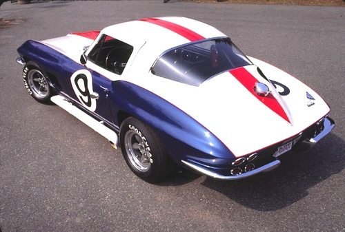 The No. 9 1967 Corvette Le Mans