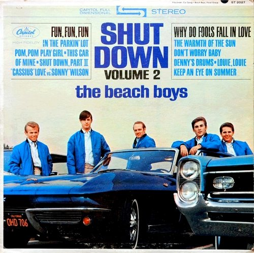 Beach Boys Shut Down Corvette Cover