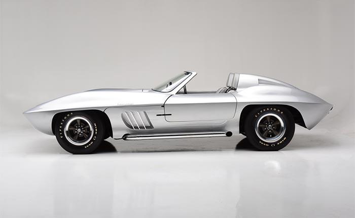 Inca Silver Custom Centurion Corvette
