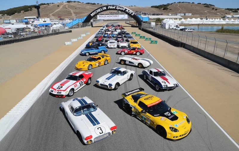 Corvette race cars.