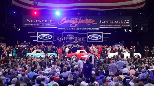 1955, 1956 and 1957 VIN 001 Corvettes at the Barrett Jackson Auction