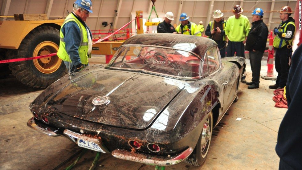 1962 Corvette recovered