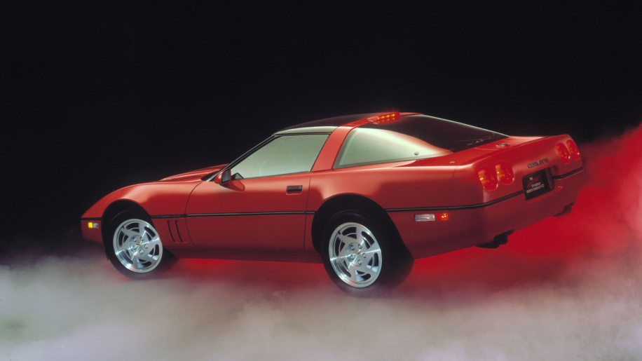 1990 Corvette ZR-1 Red