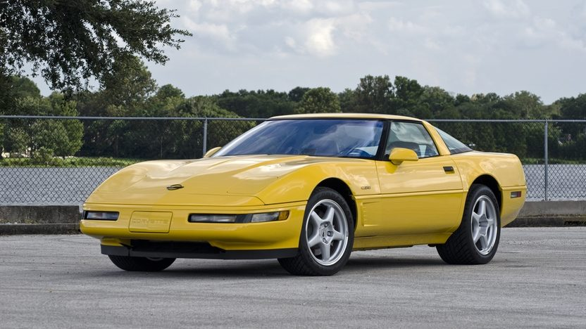 1995 Corvette ZR-1 in Yellow