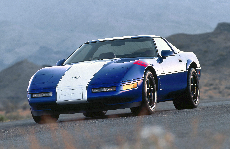 Admiral Blue 1996 Corvette Grand Sport